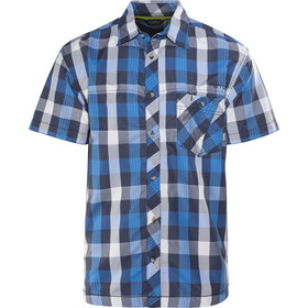 Meru Kilkis Camisa manga corta Hombre, azul